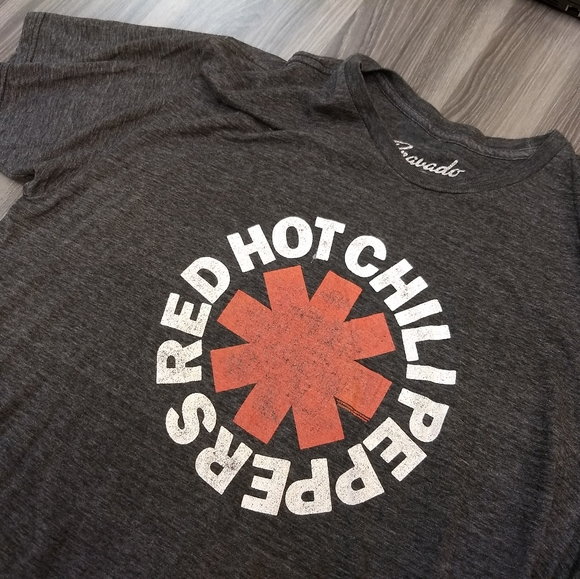 Bravado Other - RED HOT CHILI PEPPERS T-SHIRT Music Tee Band RHCP